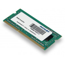 Оперативная память 4Gb DDR-3 1600Mhz Patriot SO-DIMM (PSD34G160081S)