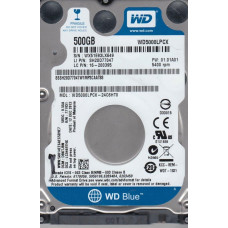 Жесткий диск 500Gb SATA-III Western Digital Blue (WD5000LPCX)