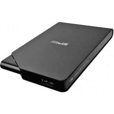 Внешний жесткий диск 1Tb Silicon Power Stream S03 Black (SP010TBPHDS03S3K)