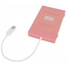 Внешний Корпус для HDD AgeStar SUBCP1 Pink