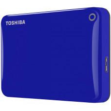 Внешний жесткий диск 2Tb Toshiba Canvio Connect II Blue (HDTC820EL3CA)