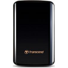 Внешний жесткий диск 1Tb Transcend StoreJet 25D3 Black (TS1TSJ25D3)