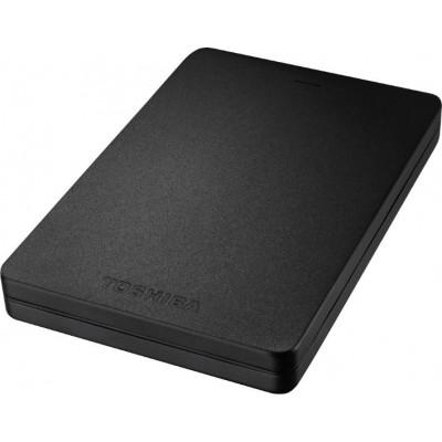 Внешний жесткий диск 1Tb Toshiba Stor.E Canvio Alu Black (HDTH310EK3AA)