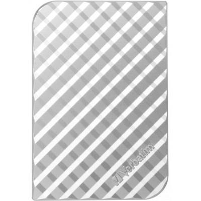 Внешний жесткий диск 1Tb Verbatim Store 'n' Go Silver (53197)