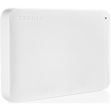 Внешний жесткий диск 1Tb Toshiba Canvio Ready White (HDTP210EW3AA)