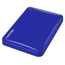 Внешний жесткий диск 500Gb Toshiba Canvio Connect II Blue (HDTC805EL3AA)