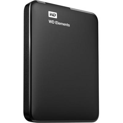 Внешний жесткий диск 1Tb Western Digital Elements Portable (WDBUZG0010BBK)