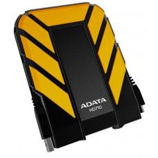 Внешний жесткий диск 1Tb A-DATA HD710 DashDrive Durable Yellow (AHD710-1TU3-CYL)