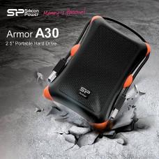 Внешний жесткий диск 500Gb Silicon Power Armor A30 Black (SP500GBPHDA30S3K)