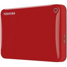 Внешний жесткий диск 2Tb Toshiba Canvio Connect II Red (HDTC820ER3CA)