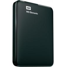 Внешний жесткий диск 2Tb Western Digital Elements Portable Black (WDBU6Y0020BBK)