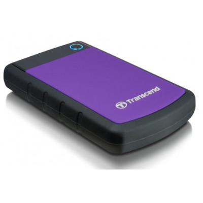 Внешний жесткий диск 1Tb Transcend StoreJet 25H3P (TS1TSJ25H3P)