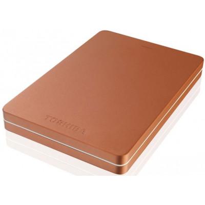 Внешний жесткий диск 1Tb Toshiba Stor.E Canvio Alu Red (HDTH310ER3AA)