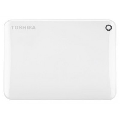 Внешний жесткий диск 500Gb Toshiba Canvio Connect II White (HDTC805EW3AA)