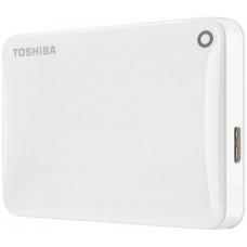 Внешний жесткий диск 2Tb Toshiba Canvio Connect II White (HDTC820EW3CA)