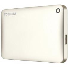 Внешний жесткий диск 2Tb Toshiba Canvio Connect II Gold (HDTC820EC3CA)