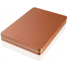 Внешний жесткий диск 2Tb Toshiba Canvio Alu Red (HDTH320ER3CA)